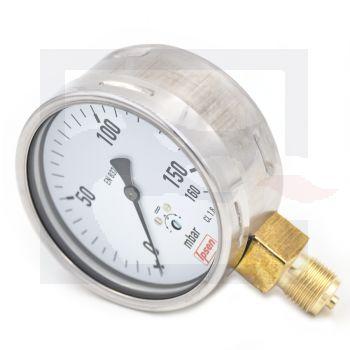 Pressure gauge - 160mbar