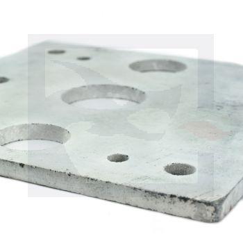 Muffle Fan Block Plate